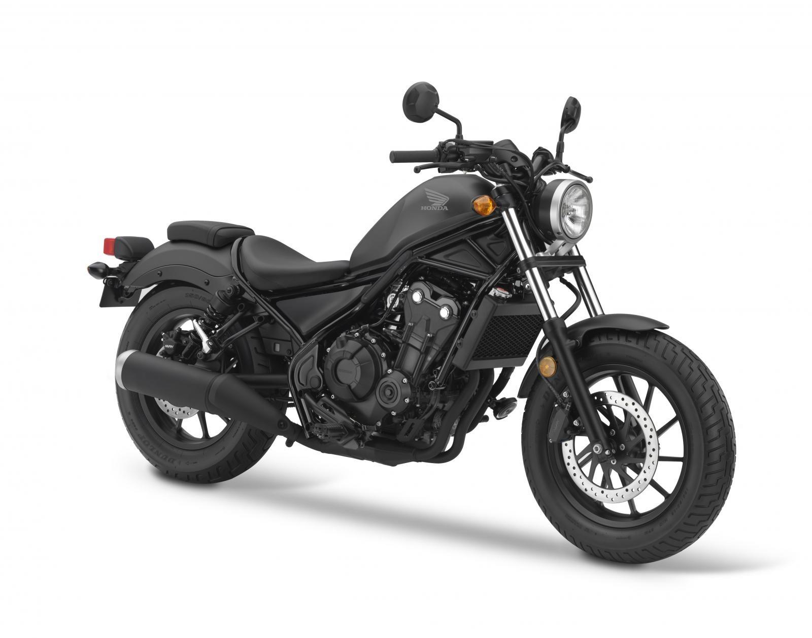 Honda Rebel 500 2019 Đen Xám