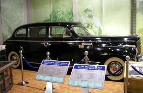 Chiếc ZIS 110 của chủ tịch Kim Nhật Thành