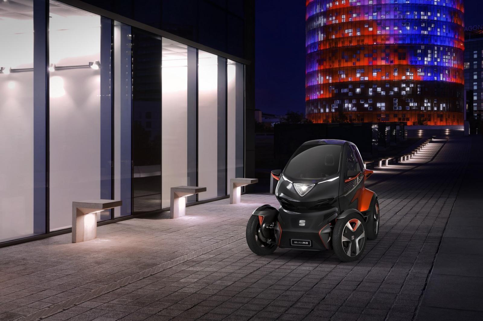 Seat Minimo là một mẫu xe concept kết hợp ý tưởng cả mô tô lẫn ô tô