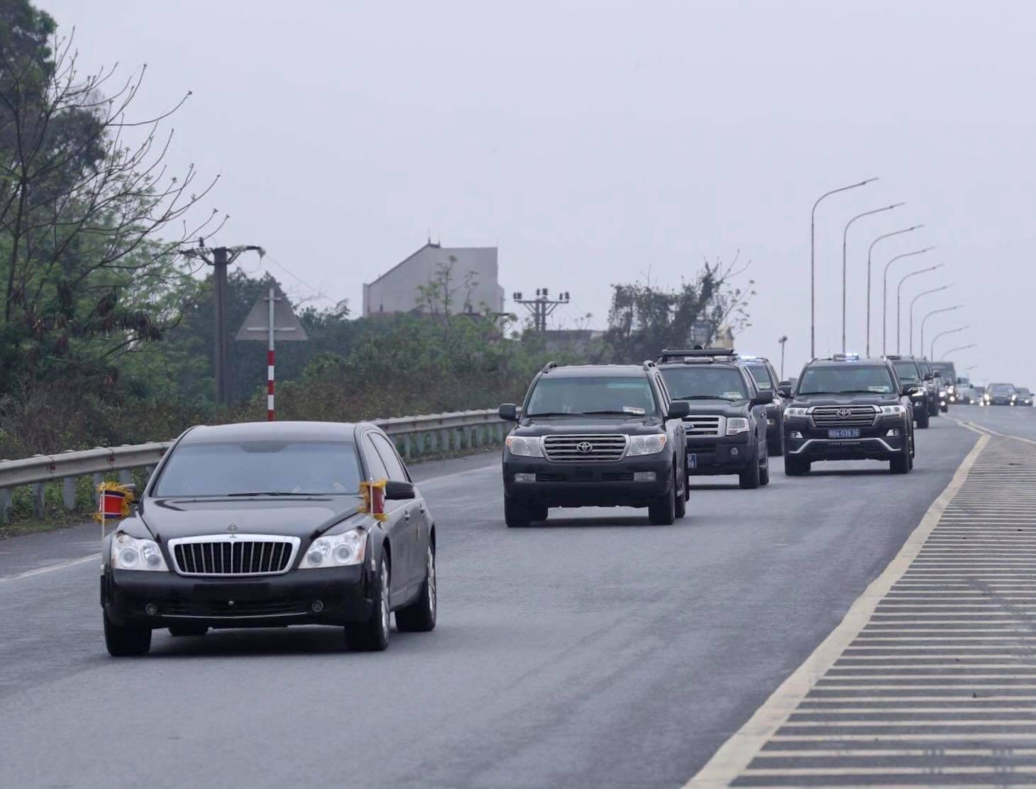 Maybach 62S trong đoàn xe hộ tống Chủ tịch Triều Tiên