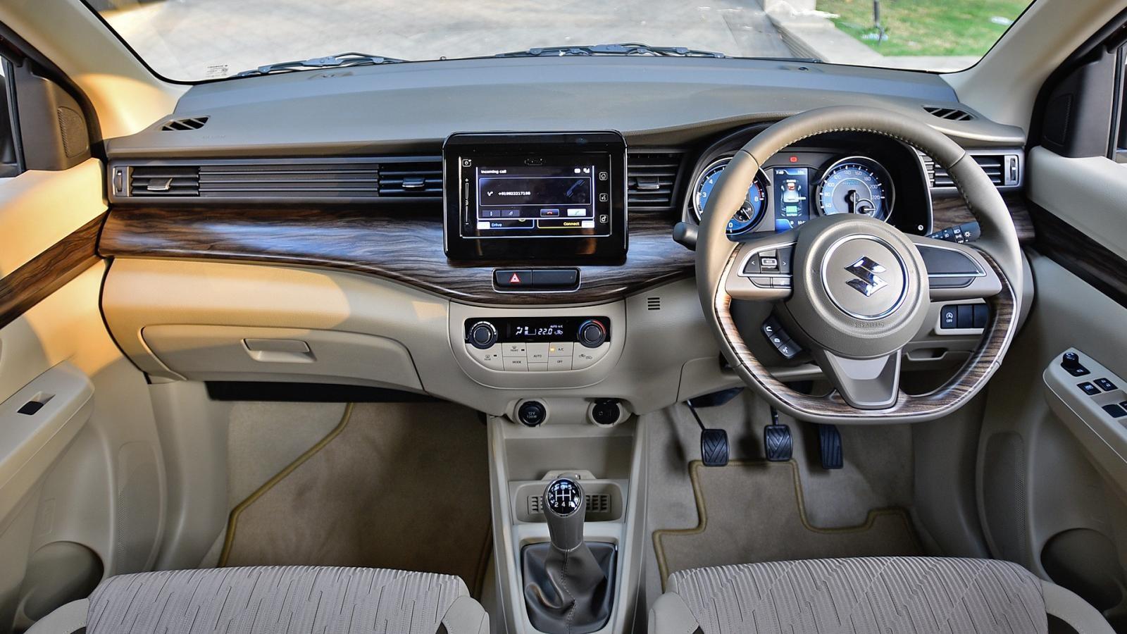Nội thất mới của Suzuki Ertiga 2019