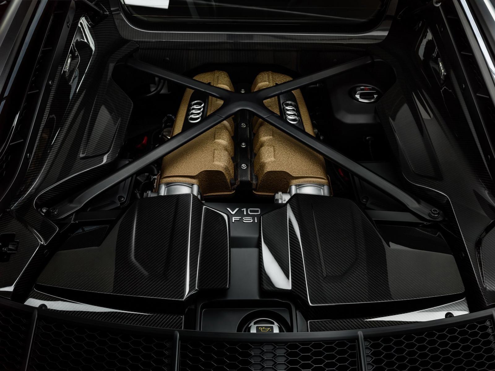 Audi R8 Decennium 2019 dùng động cơ như bản thường
