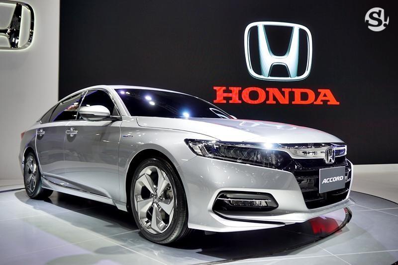 Honda Accord 2019 được trưng bày tại Thái Lan vào cuối năm ngoái