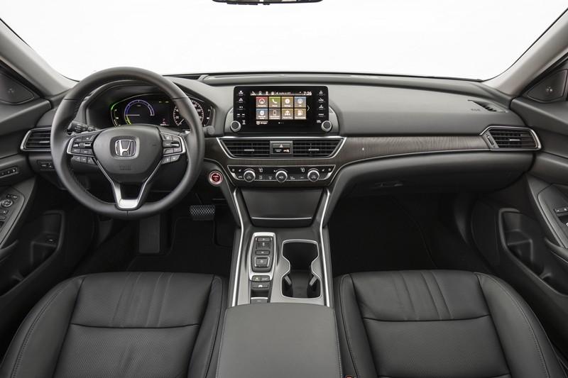 Nội thất bên trong Honda Accord 2019