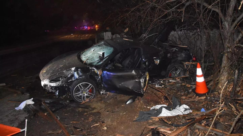 Chiếc Ferrari F430 bị hỏng nặng sau vụ tai nạn