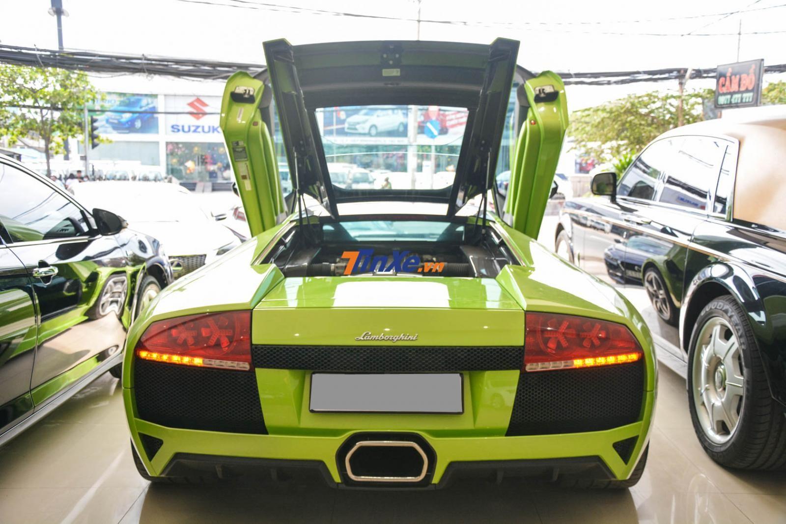Chiếc Lamborghini Murcielago LP640 này đang được thách cưới 9,8 tỷ đồng