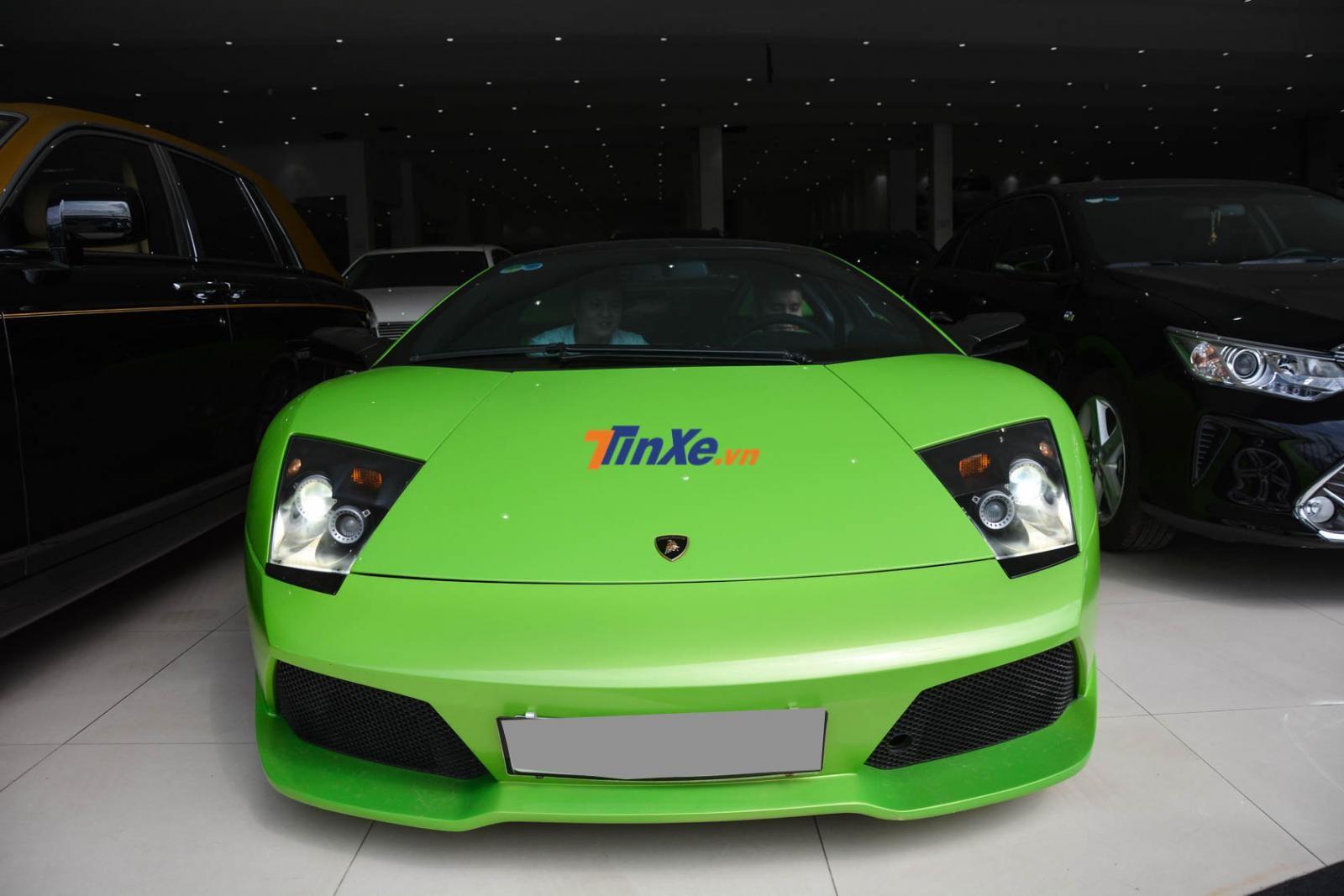Lamborghini Murcielago LP640 Verde Ithaca độc nhất vô nhị tại Việt Nam