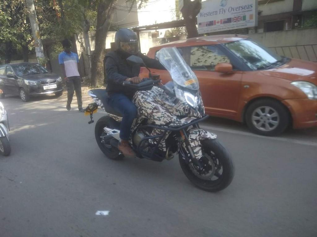 CFMoto MT650 tại Ấn Độ