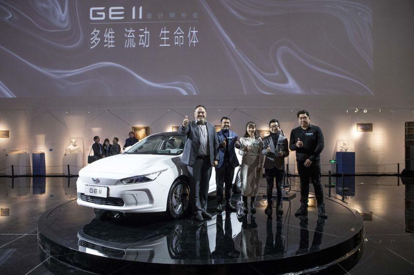 Geely GE11 có buổi ra mắt sớm ởViện bảo tàng Himalaya, Thượng Hải