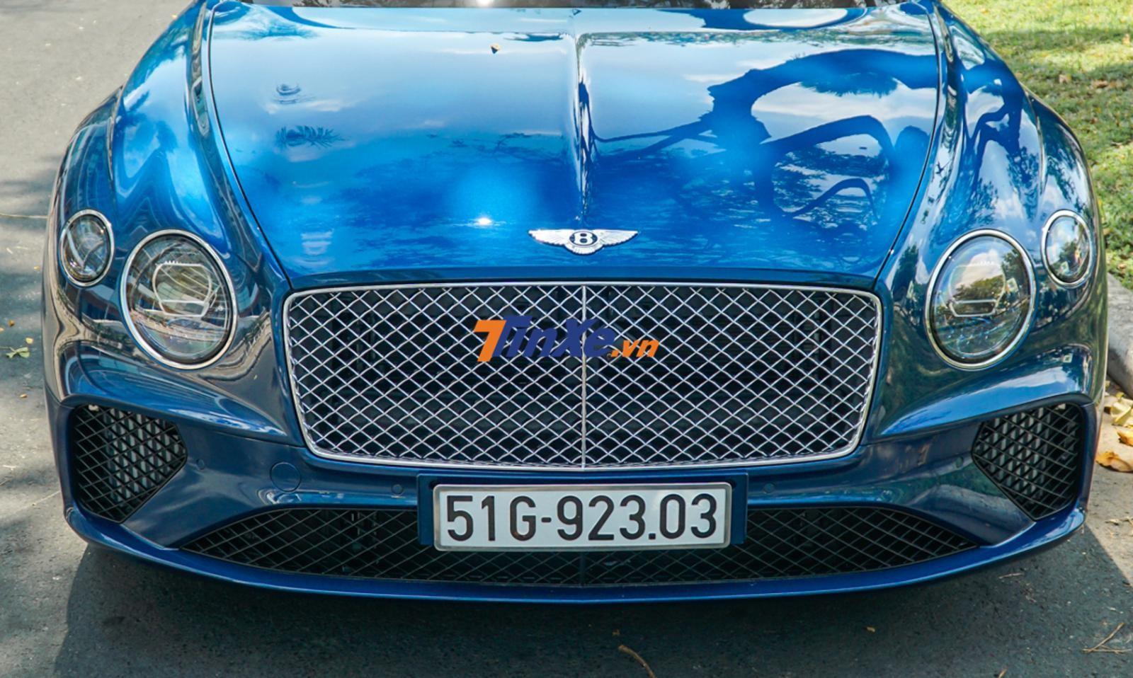 Bentley Continental GT đời 2018 thiết kế khác so với đời cũ