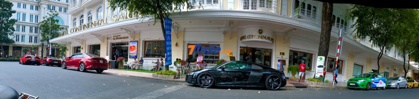 Audi R8 V10 Plus của Cường Đô la và dàn siêu xe của đại gia Sài thành