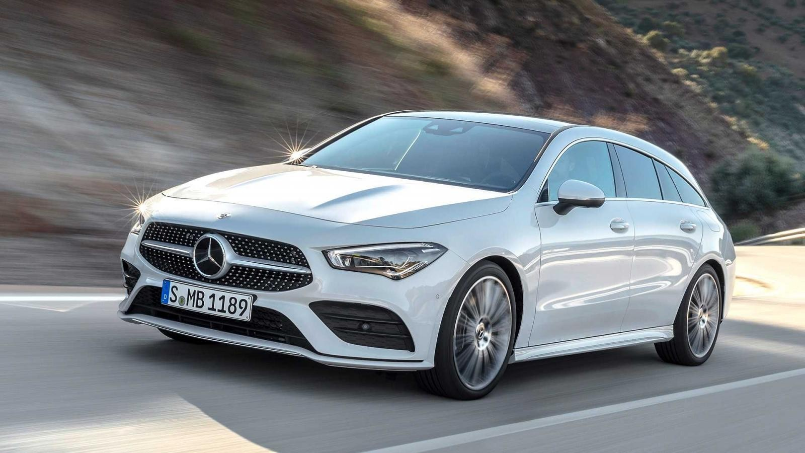 Mercedes-Benz CLA Shooting Brake 2019 ra mắt trong triển lãm Ô tô Geneva 2019