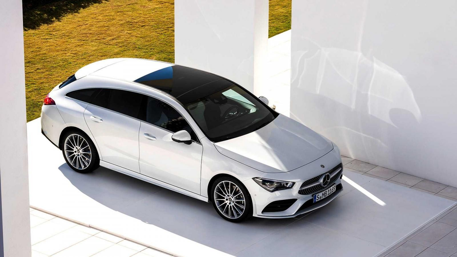 Thiết kế ngoại thất của Mercedes-Benz CLA Shooting Brake 2019