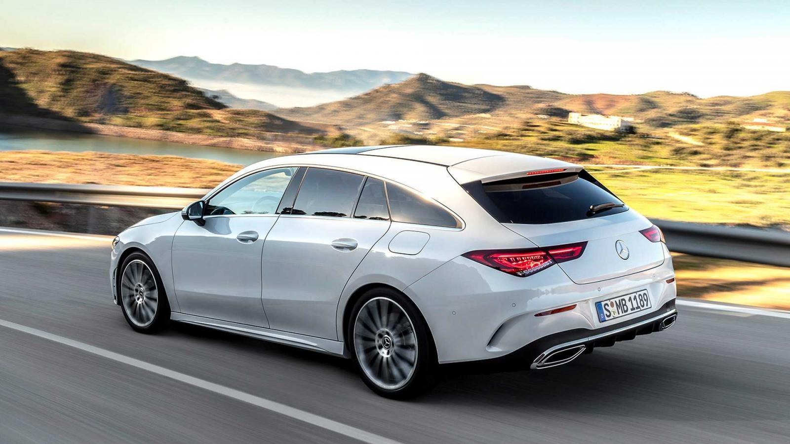 Mercedes-Benz CLA Shooting Brake 2019 có nhiều trang bị an toàn như S-Class