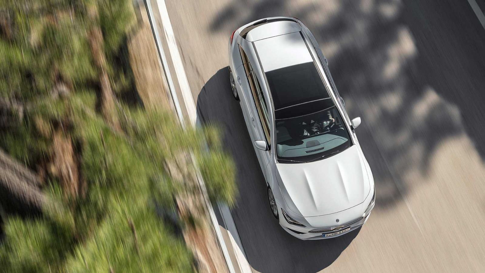 Mercedes-Benz CLA Shooting Brake 2019 chưa được công bố giá