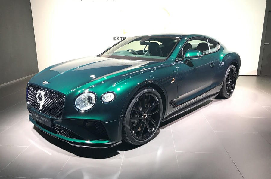 Bentley Continental GT Number 9 Edition tại Geneva 2019