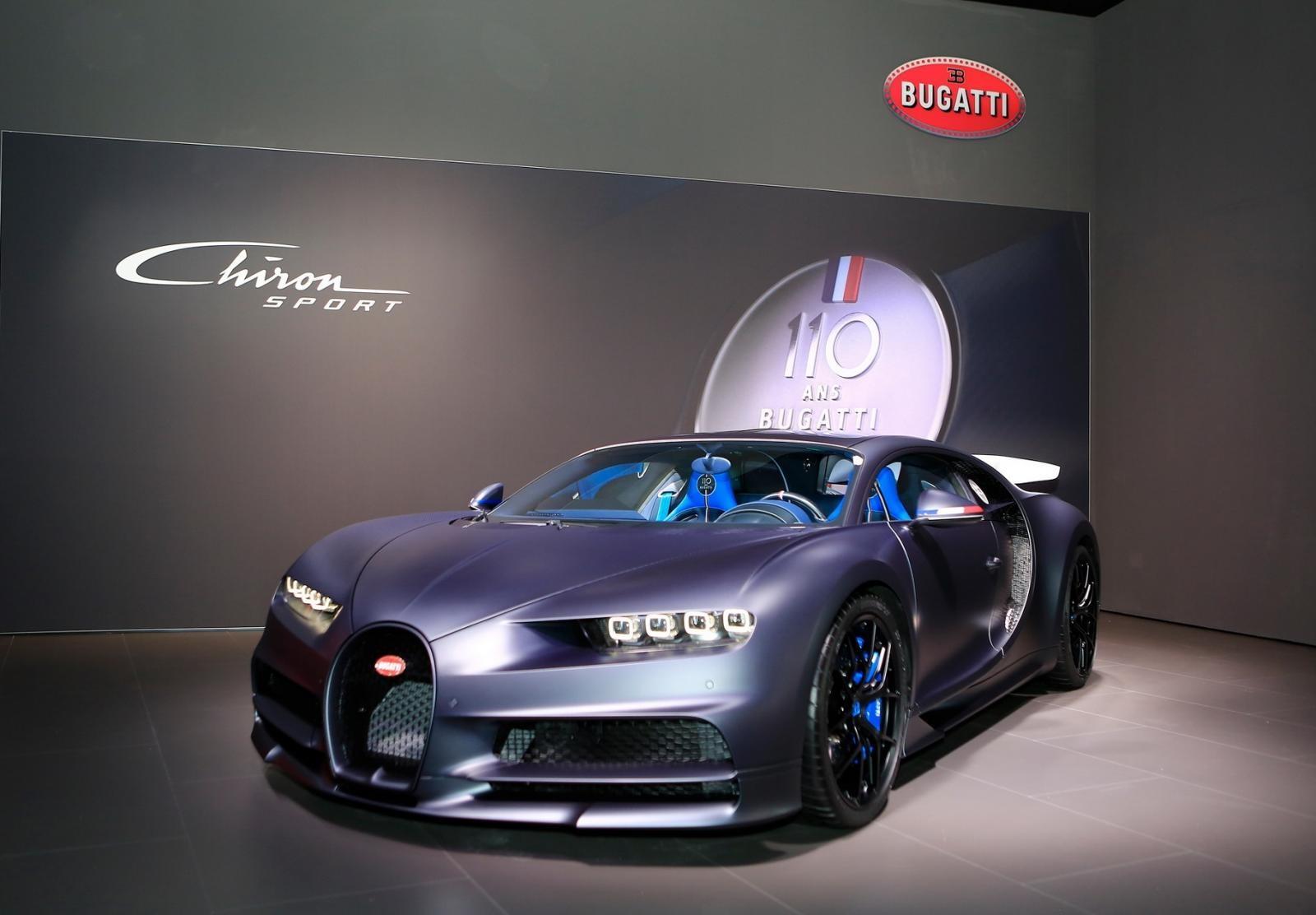 Bugatti Chiron Sport 110 Ans Edition chỉ có 20 chiếc được sản xuất