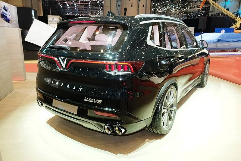 VinFast LUX SA V8 Limited Edtion sẽ chỉ được sản xuất với số lượng giới hạn.