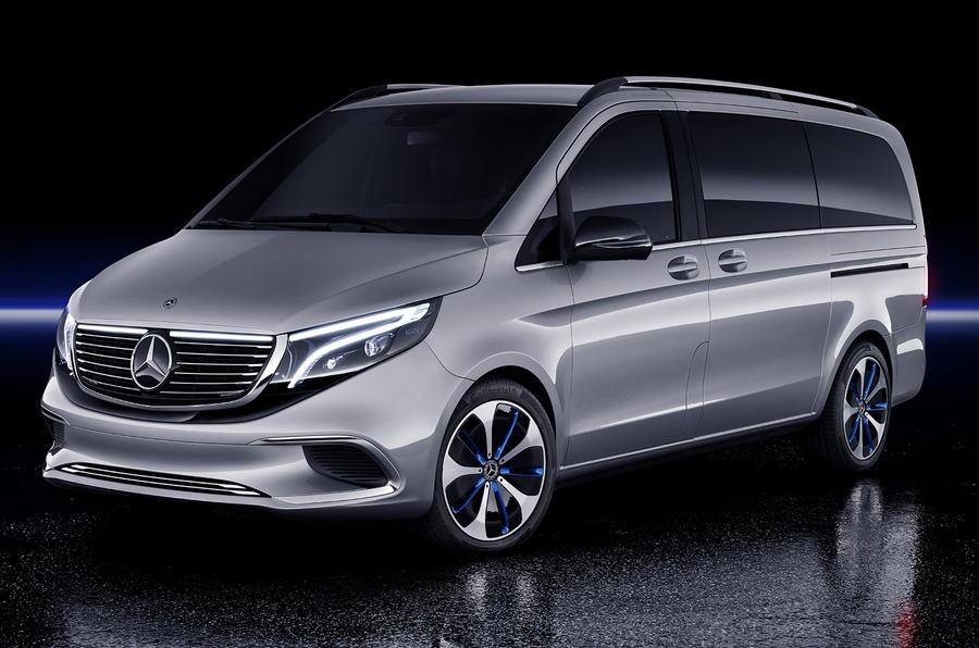 Mercedes-Benz EQV mang tới cái nhìn trước về xe van điện trong tương lai của công ty