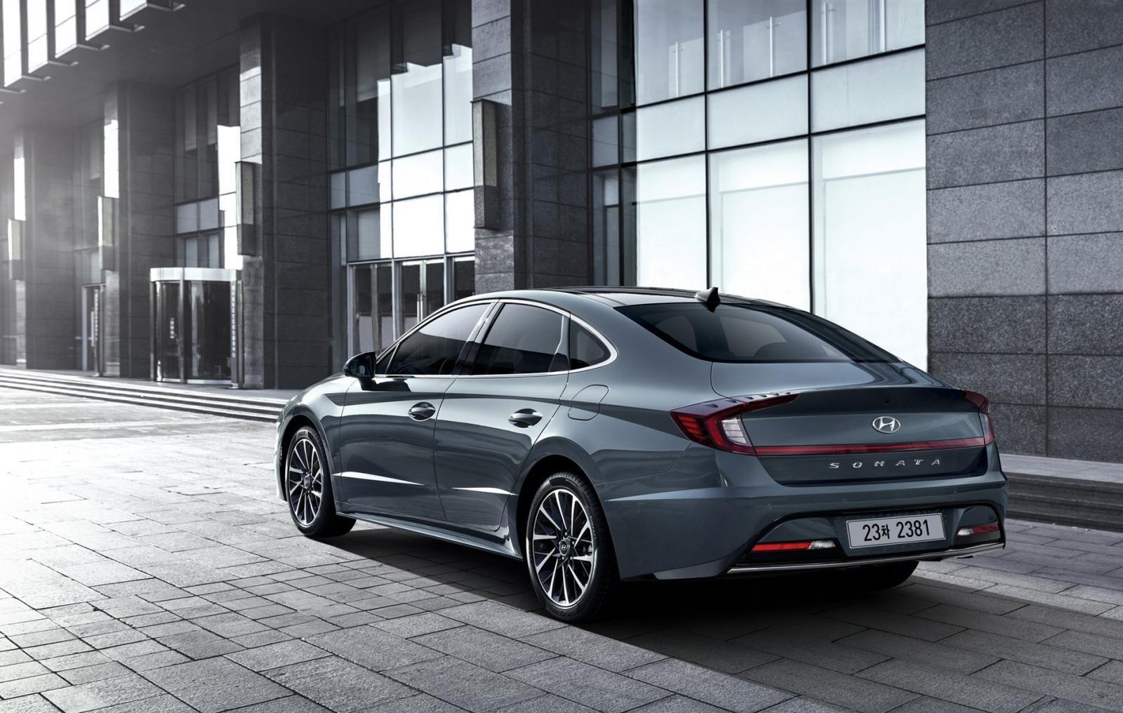 Hyundai Sonata 2020 được áp dụng ngôn ngữ thiết kế Sensuous Sportiness