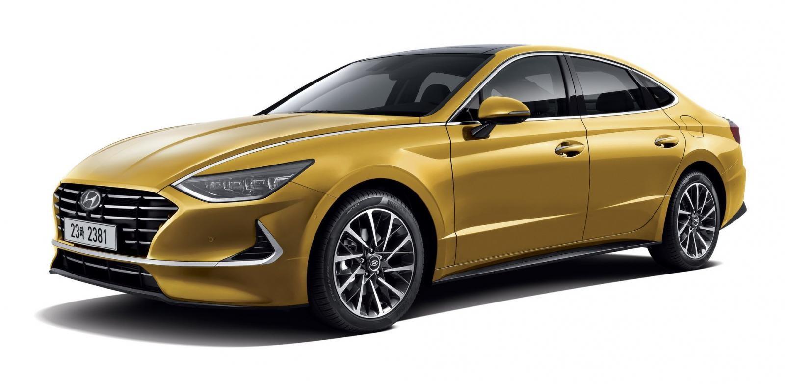 Cận cảnh thiết kế đầu xe của Hyundai Sonata 2020