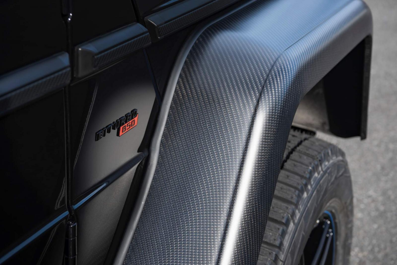 Chắn bùn bằng sợi carbon hoàn toàn mới của Brabus 850 6.0 Biturbo 4×4² Final Edition