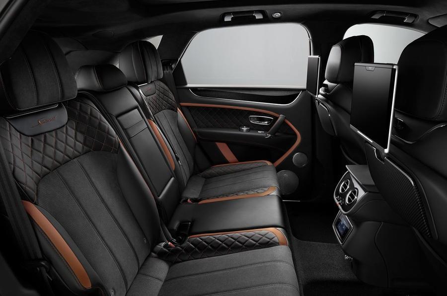 Bentley Bentayga Speed lần đầu tiên được trang bị nội thất bọc da Alcantara