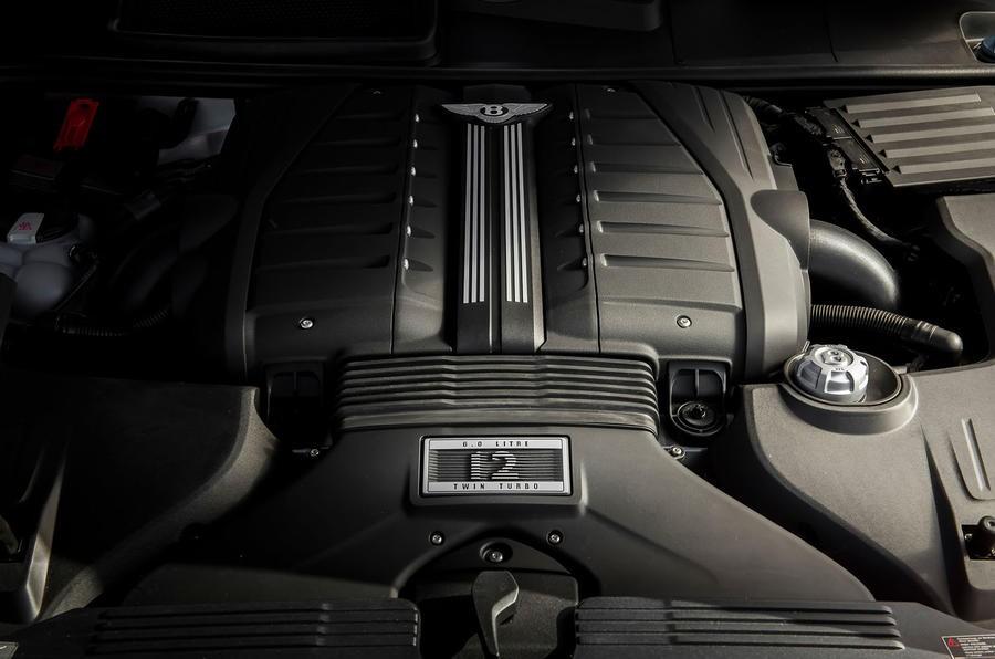 Động cơ W12 6.0L trên Bentayga Speed đã được hiệu chỉnh tăng công suất