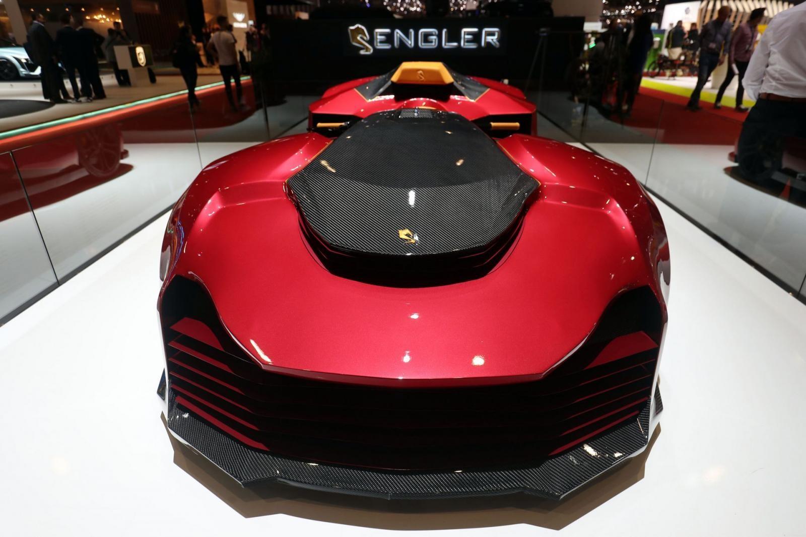 F.F Superquad có thể nói là mẫu xe lai tạo quái nhất ở Geneva 2019