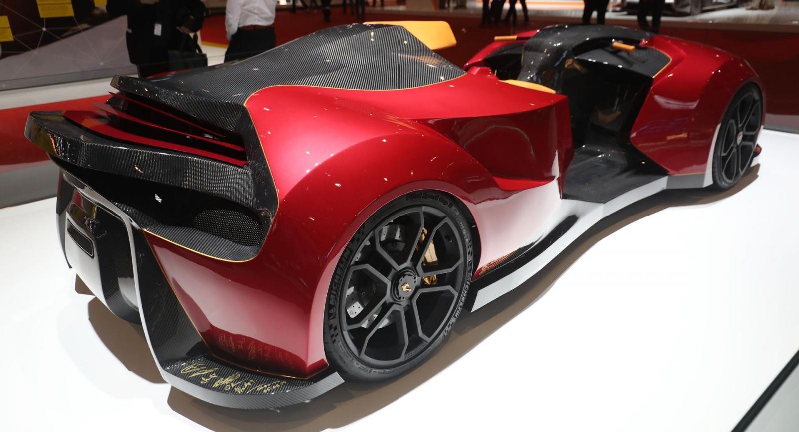 F.F Superquad sở hữu tới 850 mã lực và tốc độ như một siêu xe