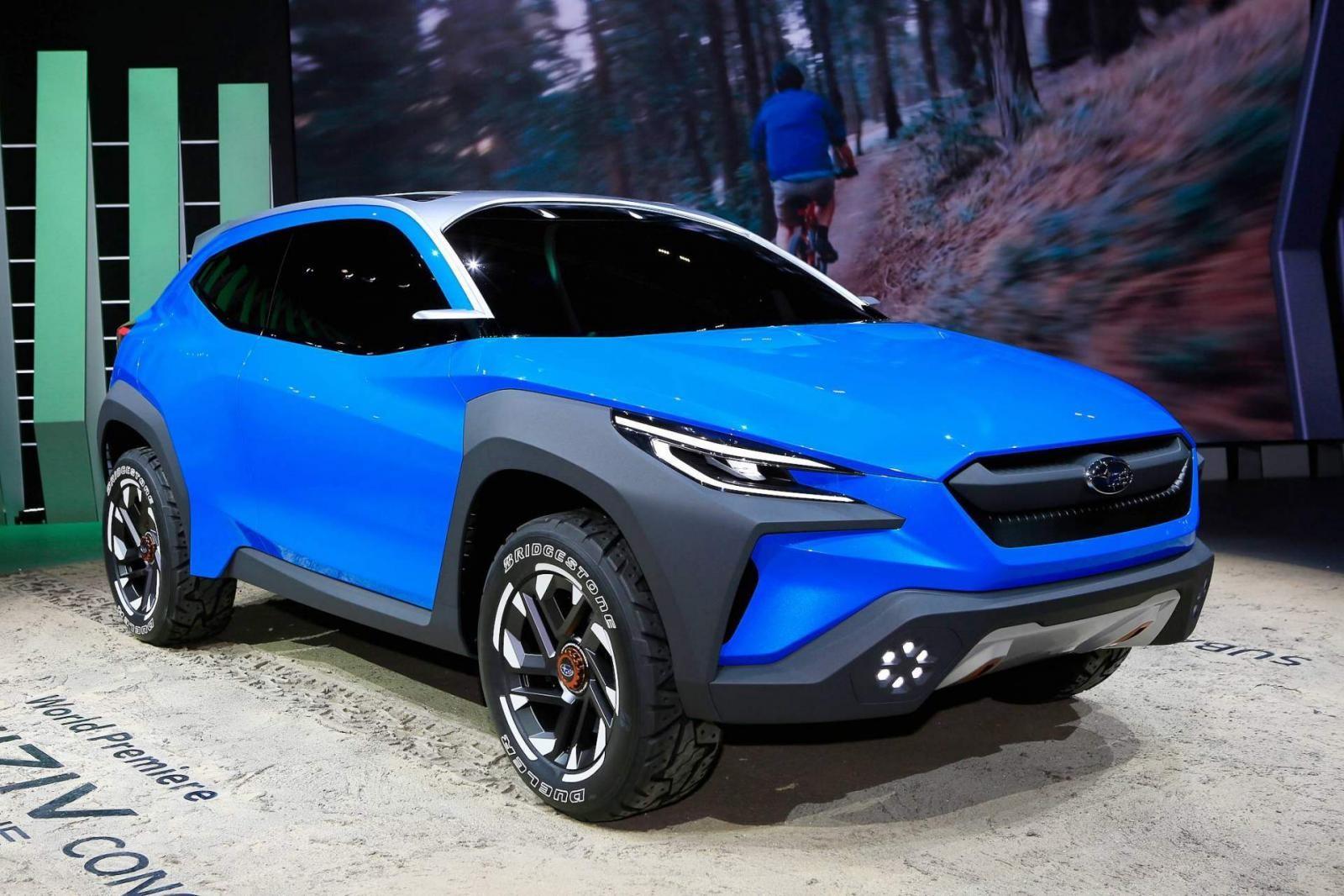 Subaru Viziv Adrenaline là mẫu xe đầu tiên áp dụng ngôn ngữ thiết kế Bolder