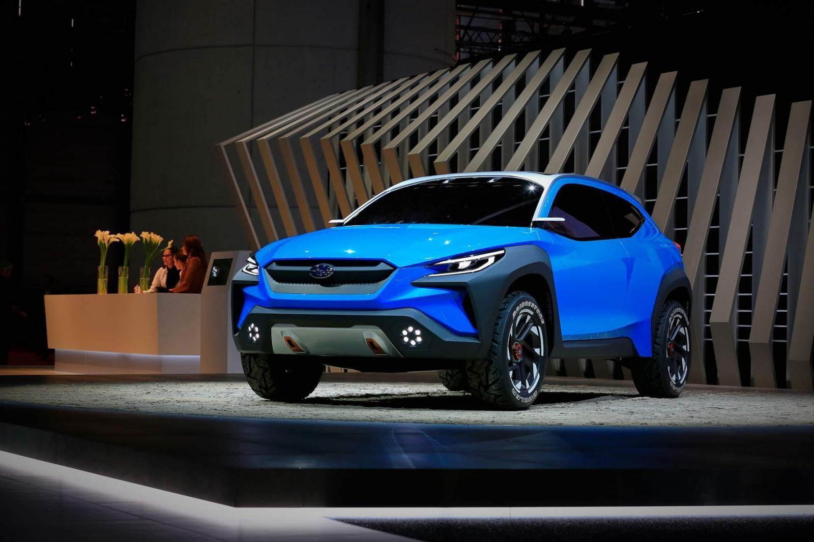 Trước mắt, Subaru chưa khẳng định rằng có đưa mẫu conceptViziv Adrenaline vào sản xuất thương mại hay không