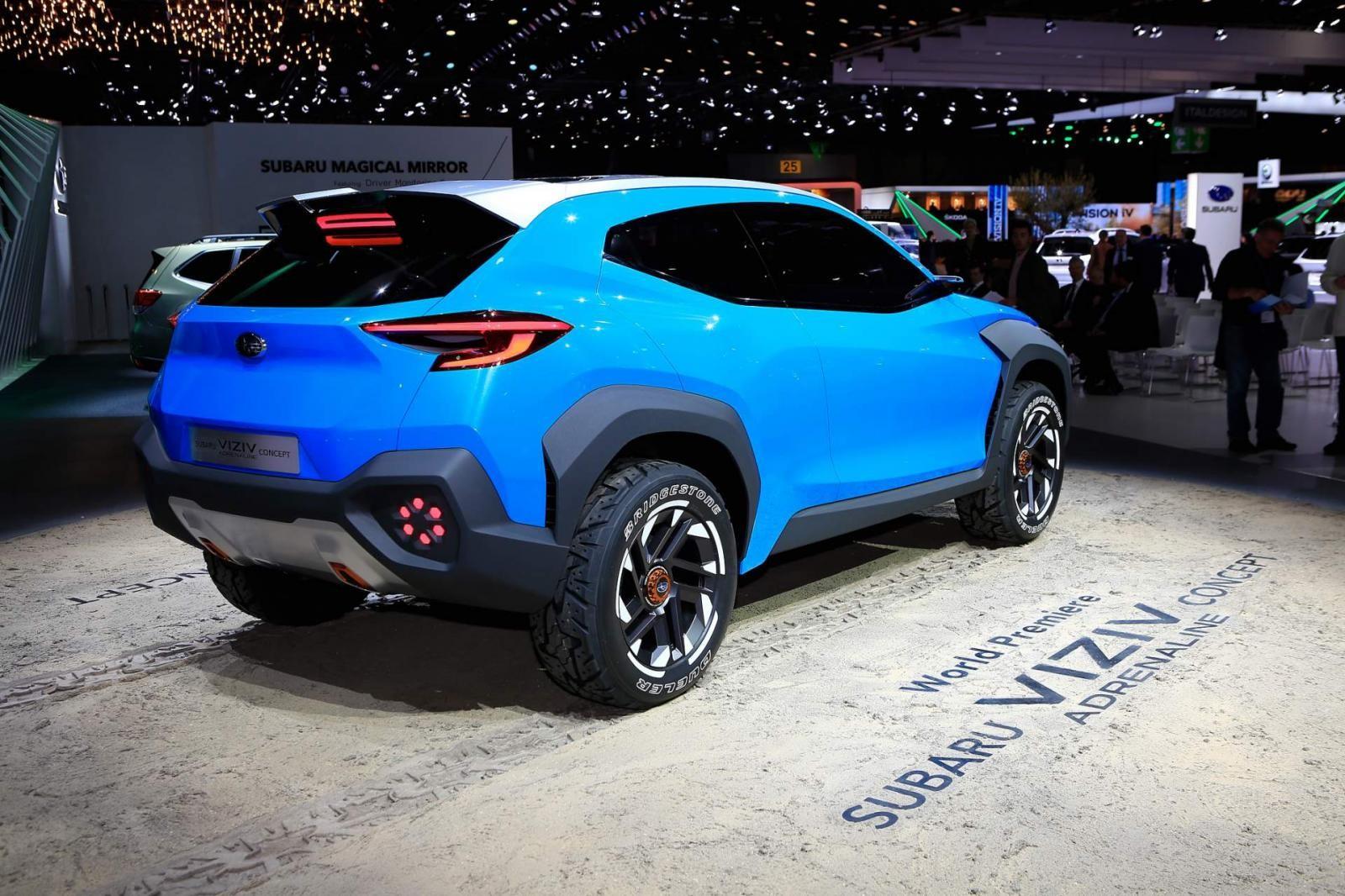 Subaru Viziv Adrenaline có gầm đủ cao, bộ lốp đi mọi địa hình để mang tới khả năng off-road tốt