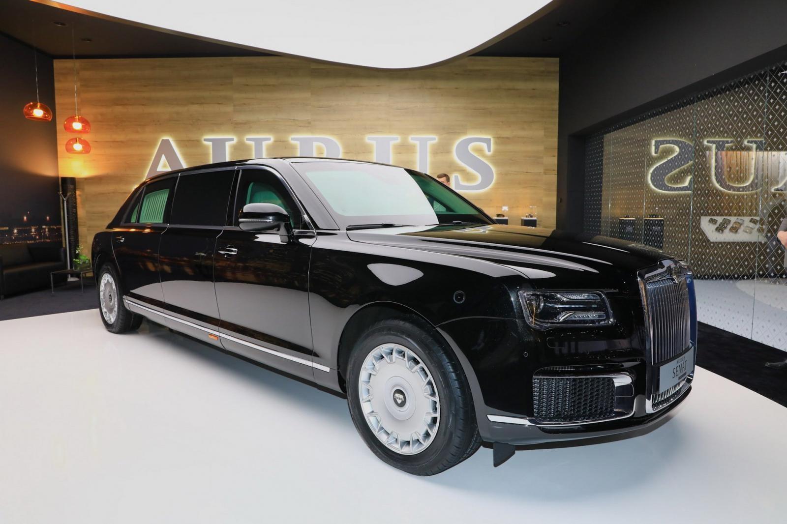 Thương hiệu Aurus tham gia triển lãm Ô tô Geneva 2019