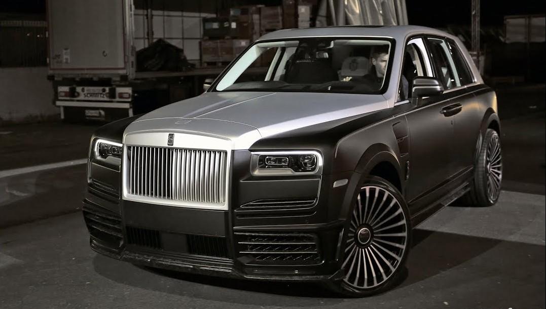 Rolls-Royce Cullinan phiên bản tỷ phú Mansory đã chính thức trình làng