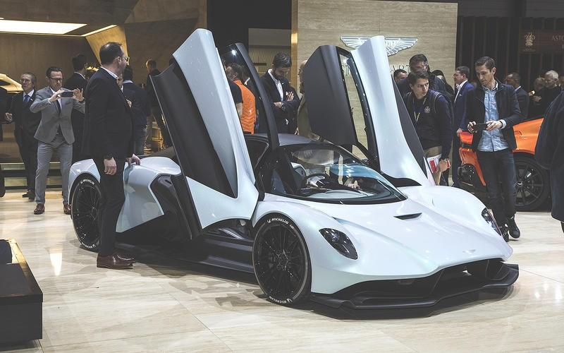Đây được xem là đứa con của Aston Martin Valkyrie