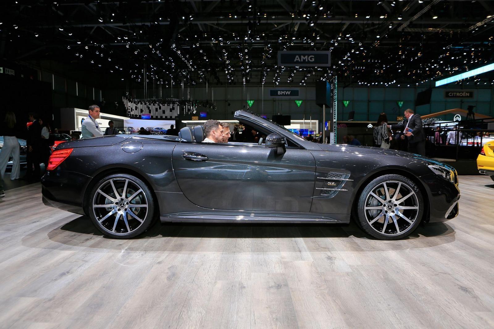 Mercedes-Benz SL500 Grand Edition trang bị vành AMG 10 chấu
