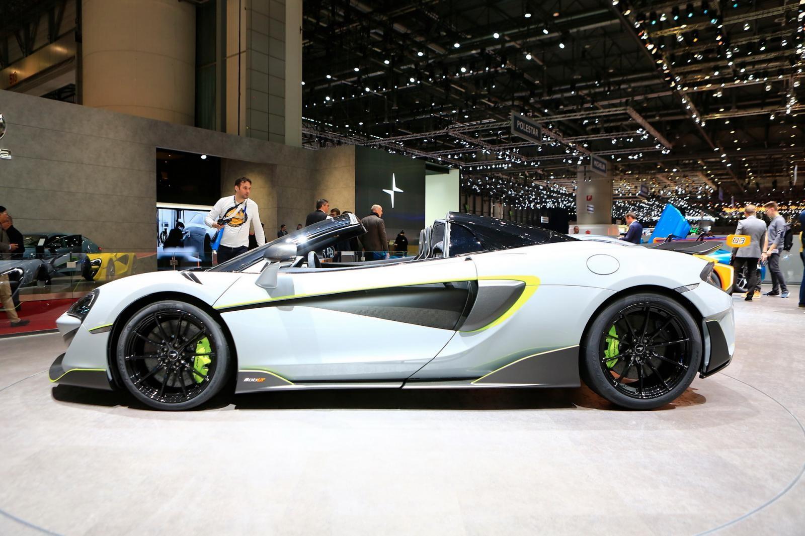 McLaren 600LT Spider siêu hiếm của MSO