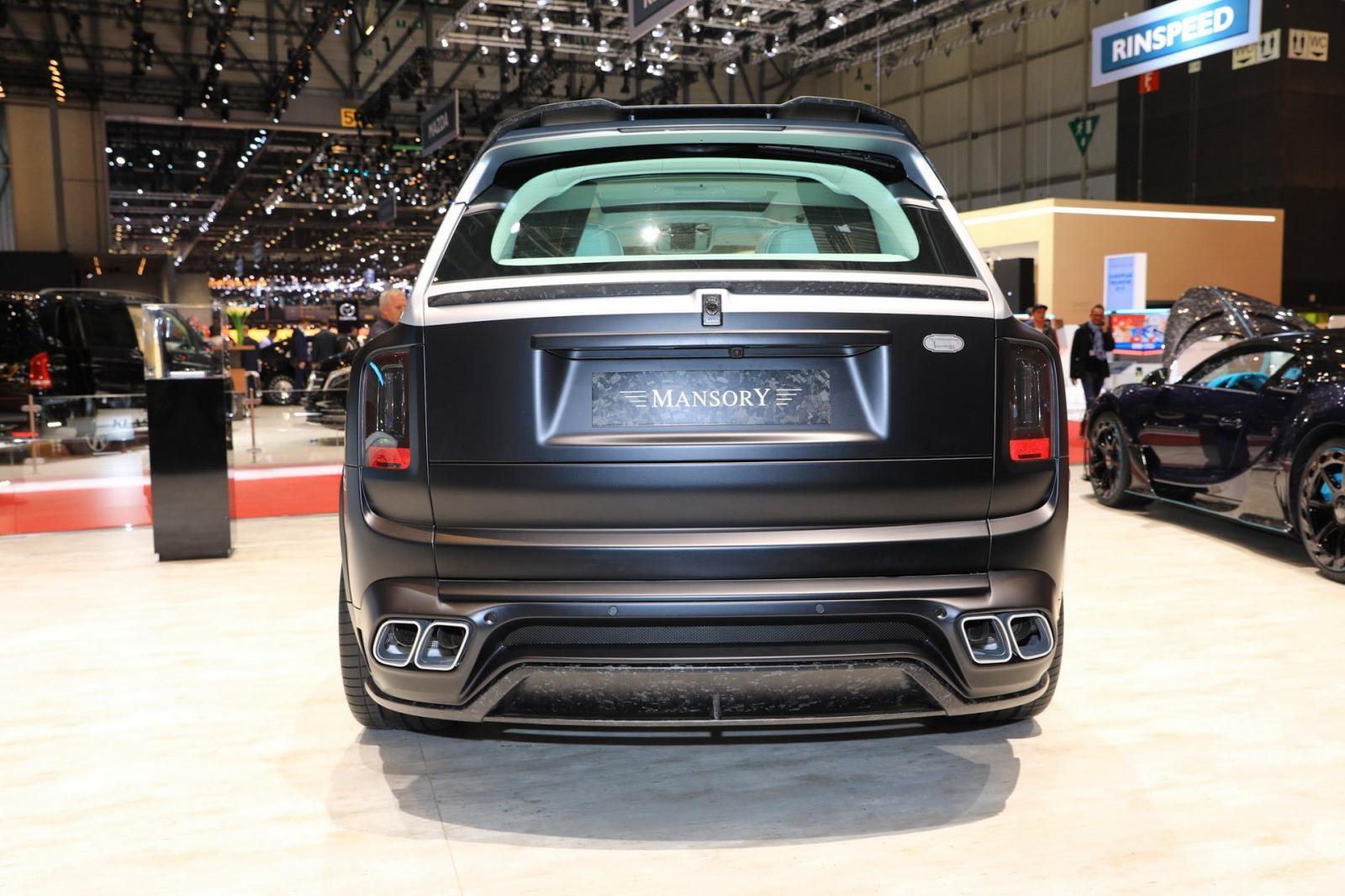 Mansory đã làm rất tốt việc thay đổi ngoại hình cho Rolls-Royce Cullinan Billionaire
