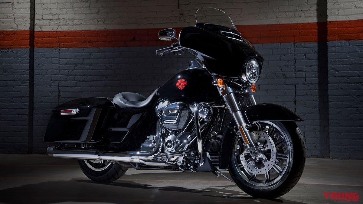 Mẫu xe Touring mớihạng nặng của Harley Davidson