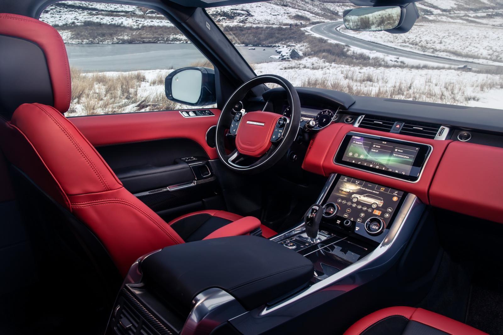 Nội thất bên trong Range Rover Sport HST 2019