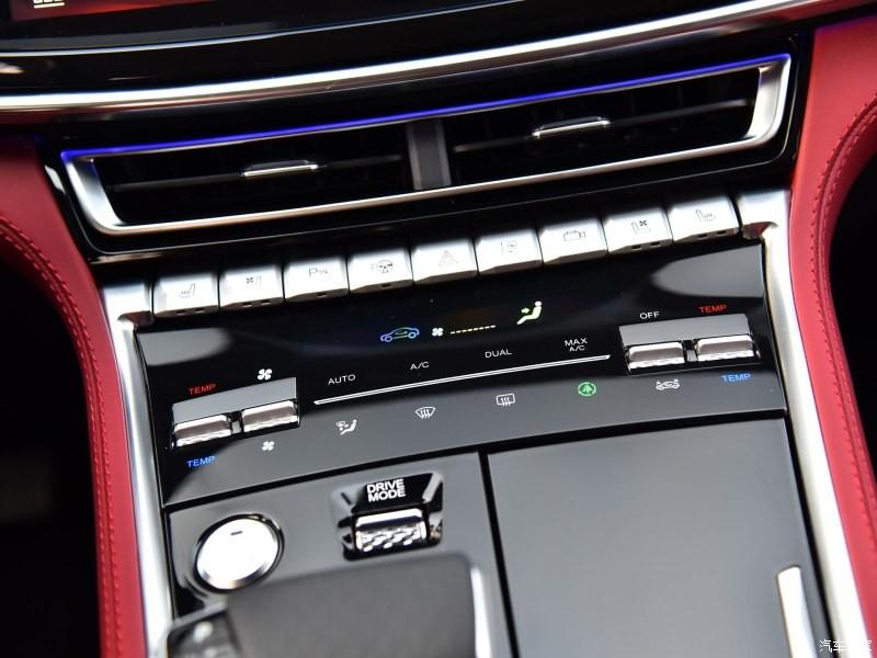 Các nút chỉnh điều hòa của Changan CS85 Coupe