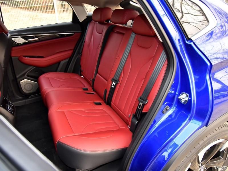 Hàng ghế sau của Changan CS85 Coupe