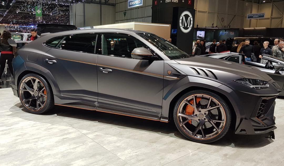 Lamborghini Urus Venatus được trang bị bộ vành 24 inch
