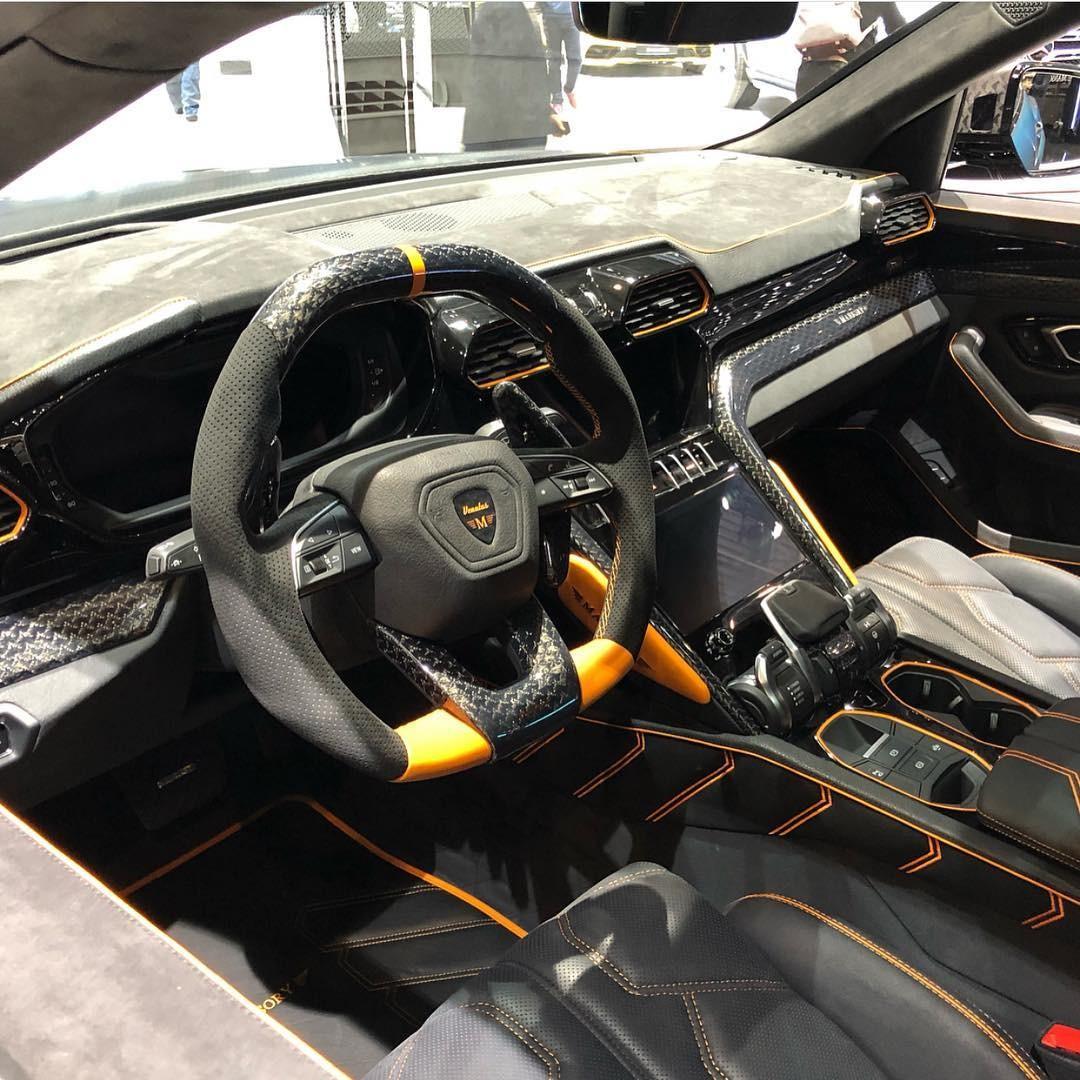 Nội thất bên trong Lamborghini Urus Venatus