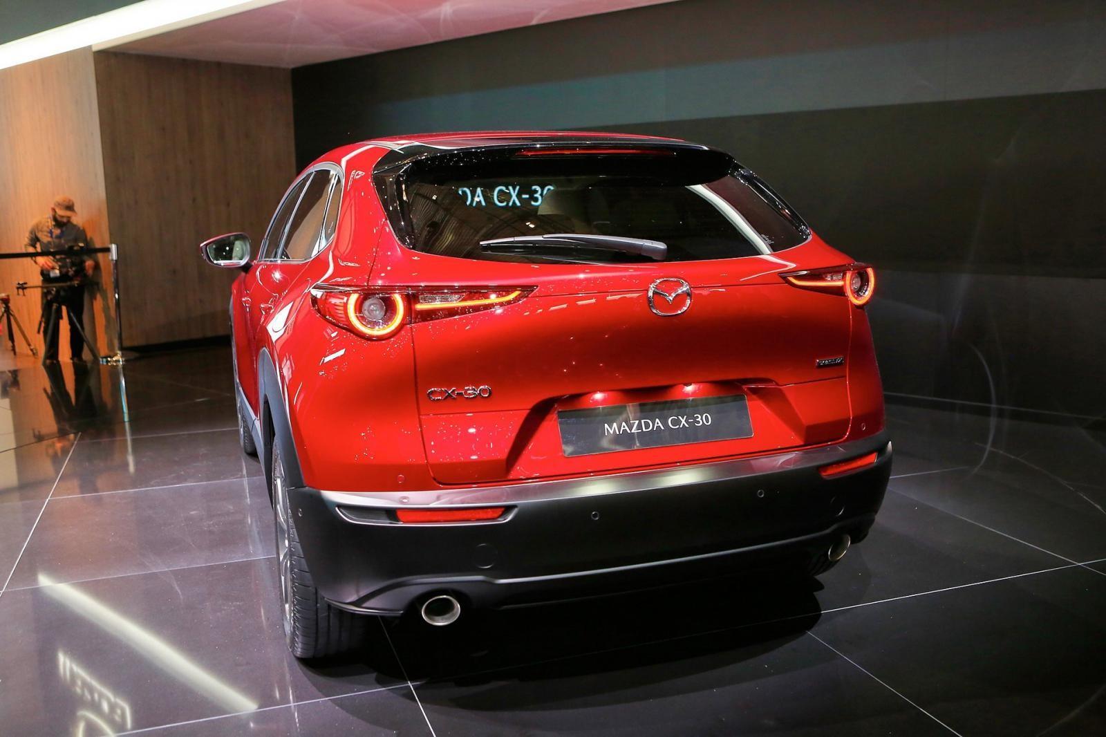 Mazda CX-30 có hệ dẫn động 4 bánh toàn thời gian tùy chọn