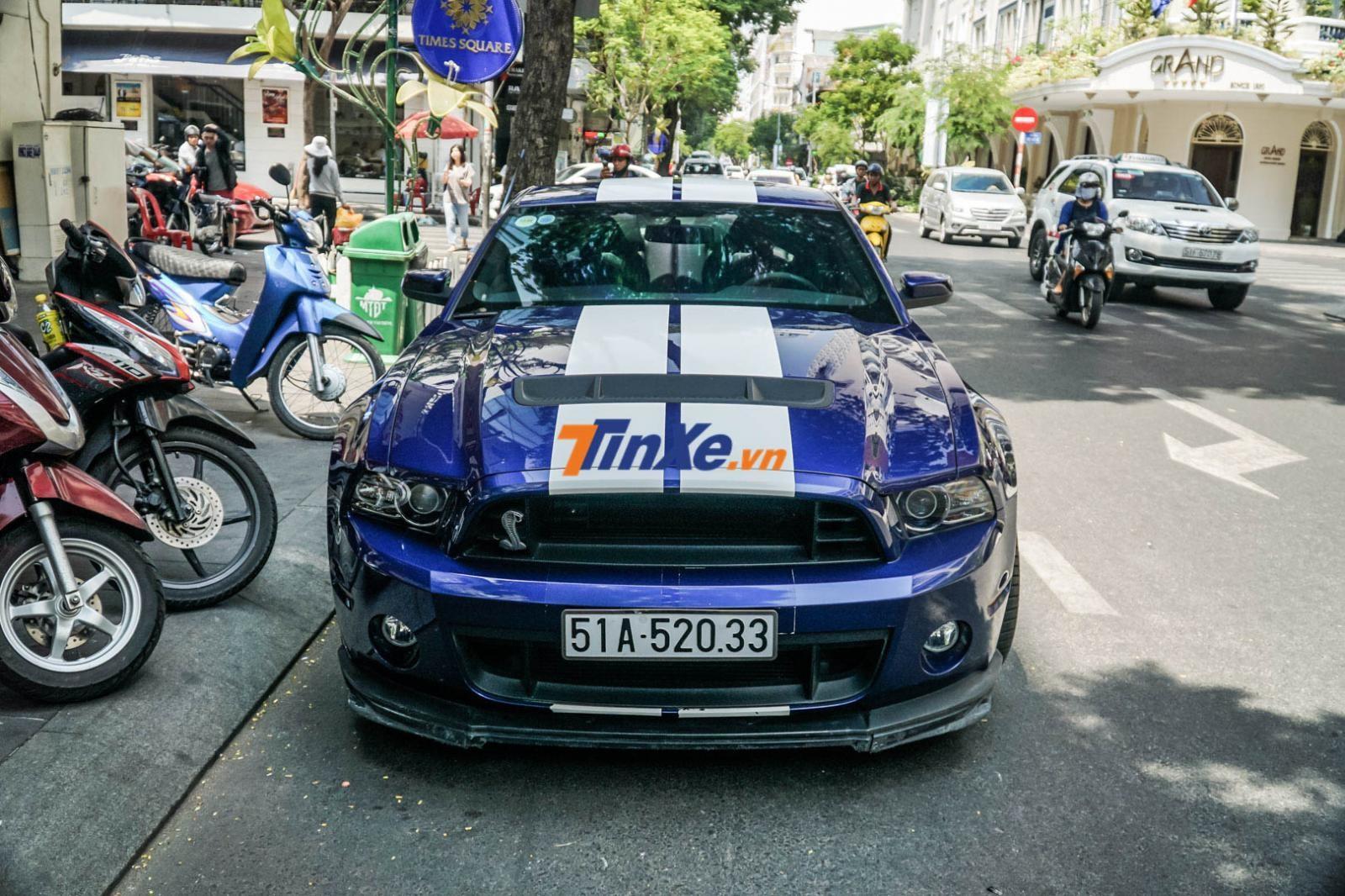 Ford Mustang Shelby GT500 độc nhất vô nhị tại Việt Nam