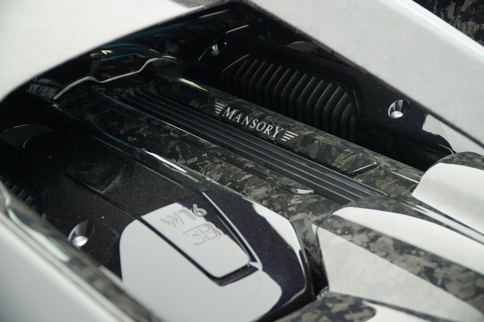 Động cơ Bugatti Chiron Centuria phủ carbon