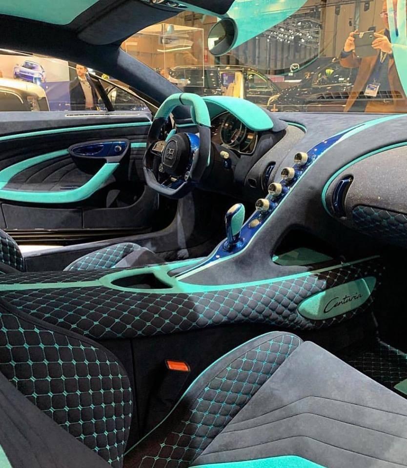 Mansory cũng làm mới nội thất cho Bugatti Chiron Centuria