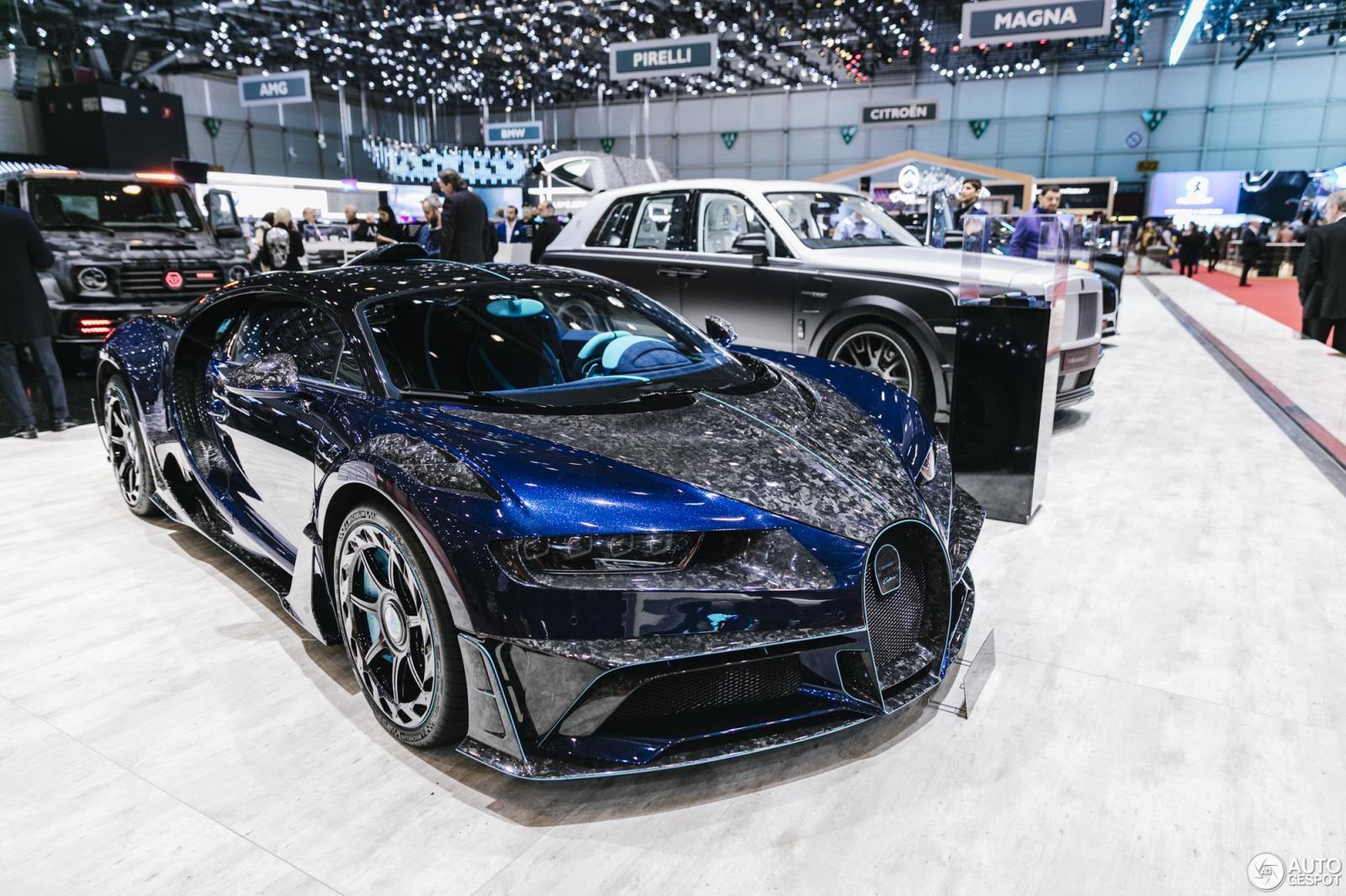 Bugatti Chiron Centuria và dàn xe độ của Mansory tại triển lãm Geneva 2019